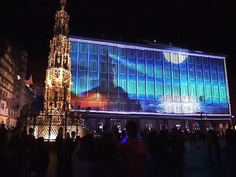 DIE BLAUE NACHT. Nürnberg